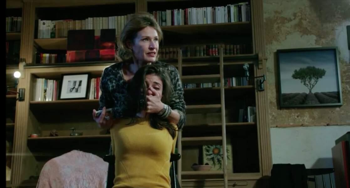 Décembre : Sabrina est enlevée par la mère de Julien, qui a tué Cyril et Mitia