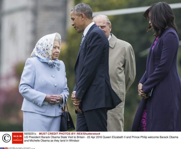 On ne sait pas si Barack Obama a chanté Happy Birthday à la souveraine, qui avait fêté la veille ses 90 ans