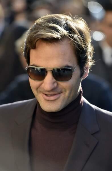 ...alors que la présence de Roger Federer était plus surprenante !