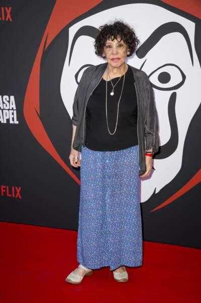 Liliane Rovère (Dix pour cent, Family Business) aussi a pu découvrir le début de la saison 3 de La Casa de Papel