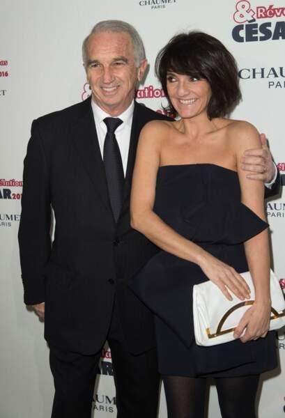L'actrice et humoriste prend la pose avec Alain Terzian