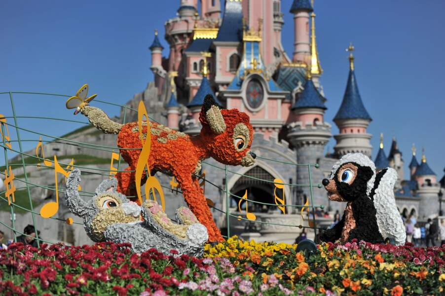 Le printemps s'annonce fleuri à Disneyland Paris