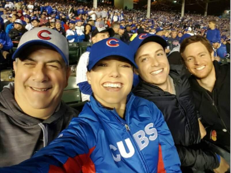 Fan de base-ball, et plus particulièrement des Cubs, le club de ... Chicago bien sûr