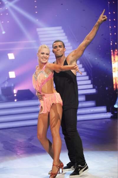 Brahim Zaibat et Katrina à la première de la tournée Danse avec les stars à Bercy