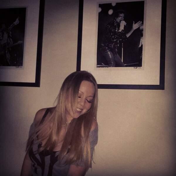 Sur le Instagram de Mariah Carey, il y a des photos dignes d'une diva