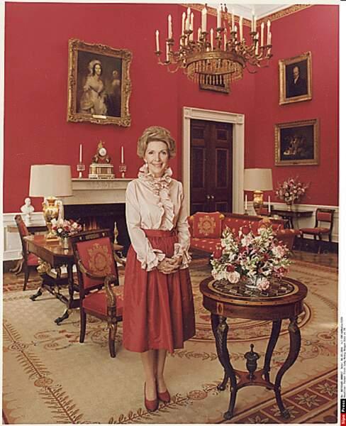 Nancy Reagan est la seule actrice à avoir été First Lady (1981/1989)