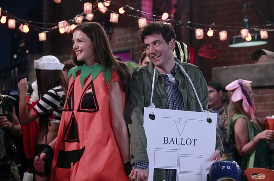 Katie Holmes est la citrouille de Ted, celle qu'il attend chaque année désespérément à Halloween.