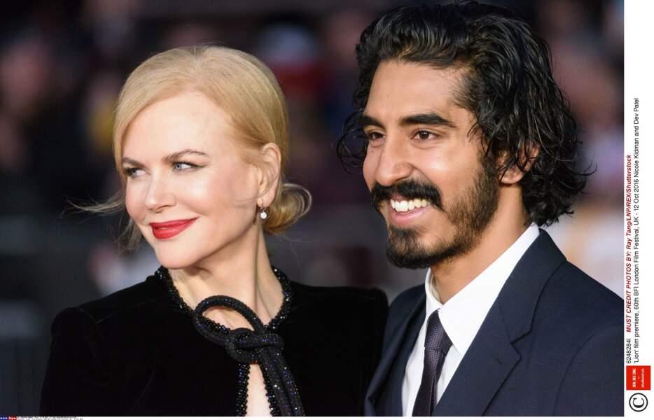 Nicole Kidman et Dev Patel, complices lors de l'évènement