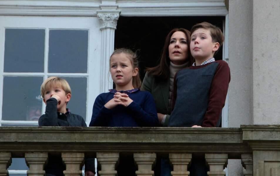 Danemark : le prince Christian écoute les conseils de sa mère la reine Mary