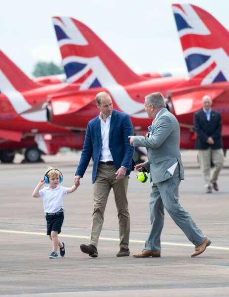 Petite promenade autour des Red Arrows, la patrouille de la Royal Air Force