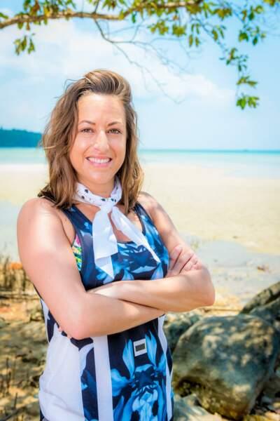 Amandine, candidate de Koh-Lanta : l'île au trésor