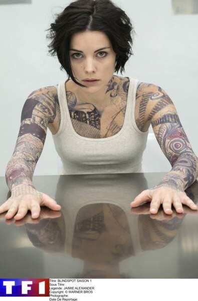 Mais surtout, elle est l'héroïne de la série Blindspot, diffusée sur TF1