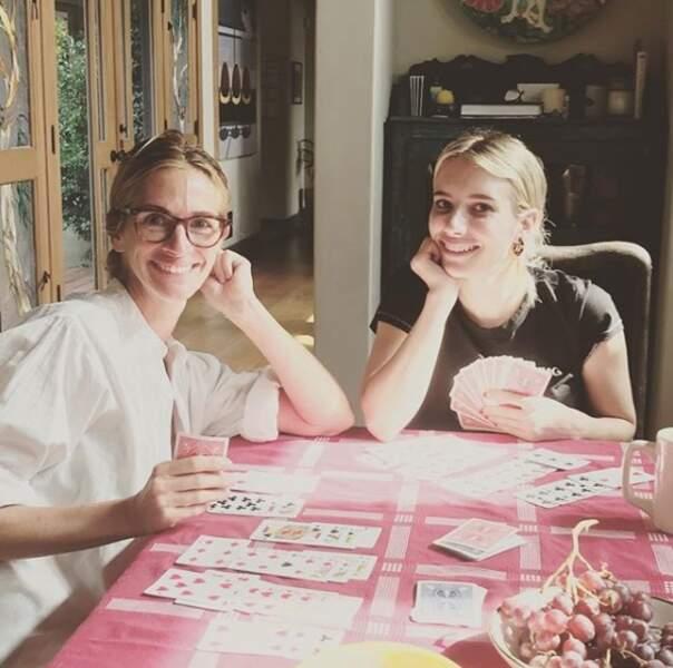 Julia et Emma Roberts le dimanche...