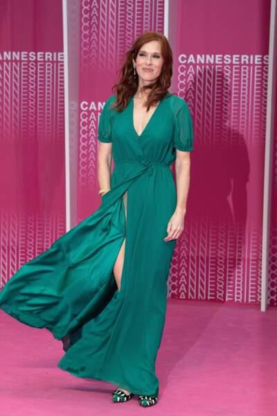 Audrey Fleurot, toujours aussi sublime sur ce tapis rose
