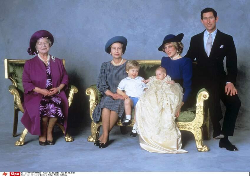 Deux ans plus tard, le 15 septembre 1984, ils donnent naissance à un petit Harry