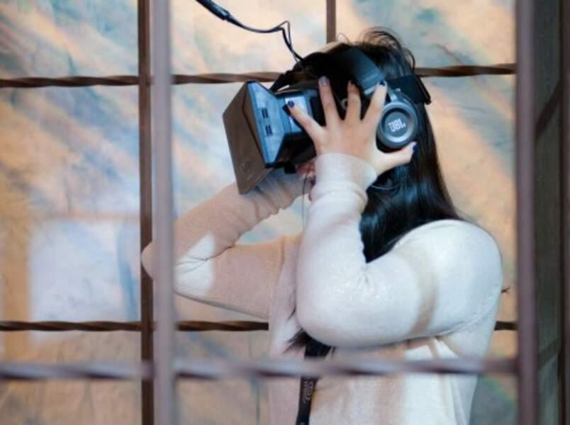 Un casque de réalité virtuelle vous permettra de grimper en haut du Mur