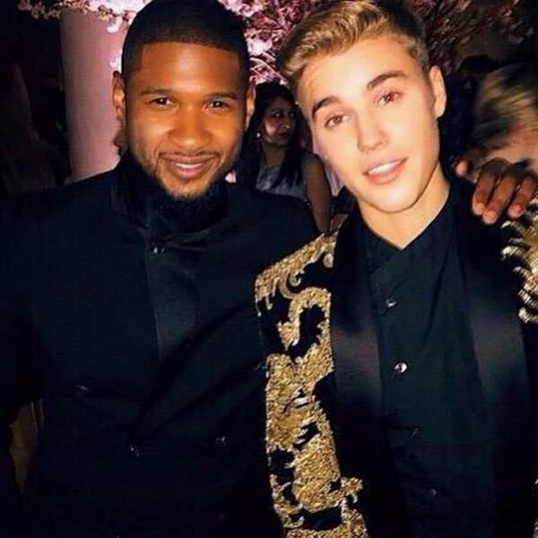 Et bien sûr son mentor Usher.