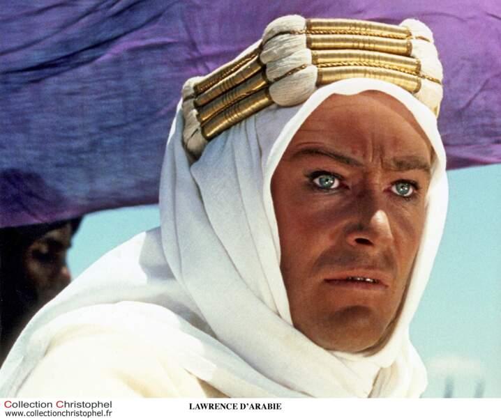 Peter O'Toole dans Lawrence d'Arabie
