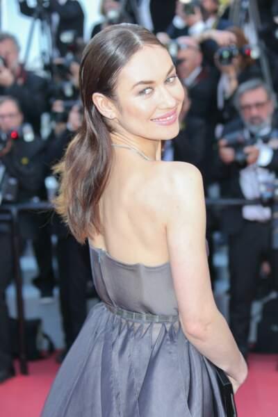 Olga Kurylenko à la clôture du Festival de Cannes