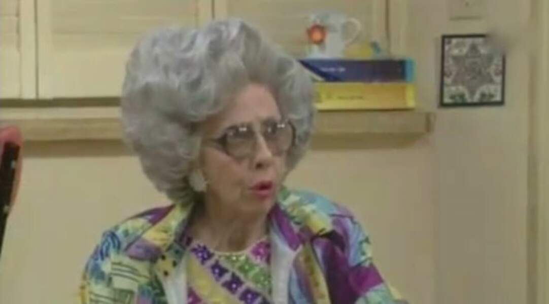 Ann Morgan Guilbert jouait la grand-mère de Fran