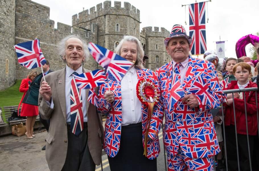 Certains se sont mis beaux pour célébrer les 90 ans de leur Queen