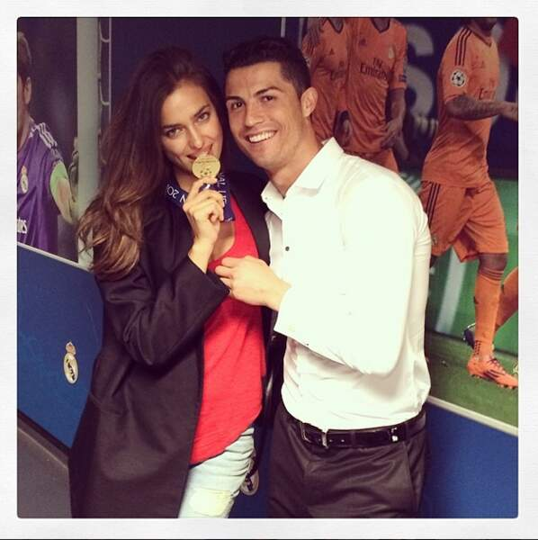 Irina Shayk est fière du sacre de son chéri Cristiano Ronaldo