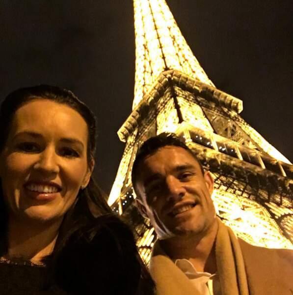 Visiblement, le couple est RAVI d'habiter à Paris...