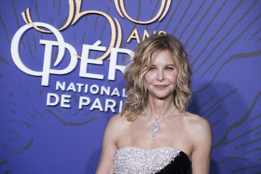 Meg Ryan à l'Opéra de Paris en mai 2019