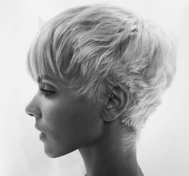 En parlant de cheveux, voici le résultat du changement radicale de Shy'm.