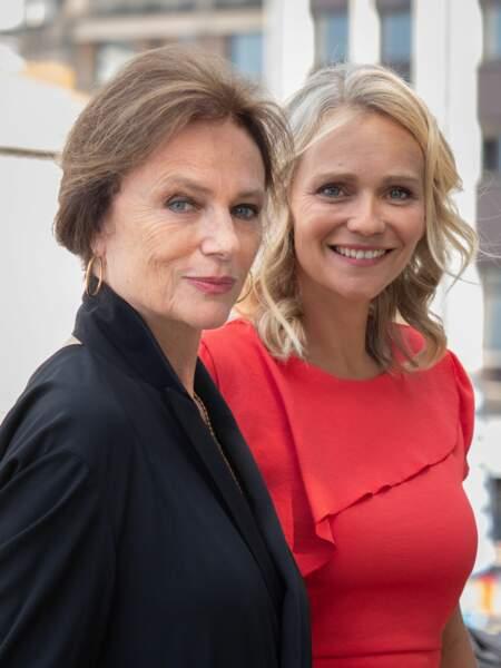 Jacqueline Bisset, présidente du jury, et Claire Borotra
