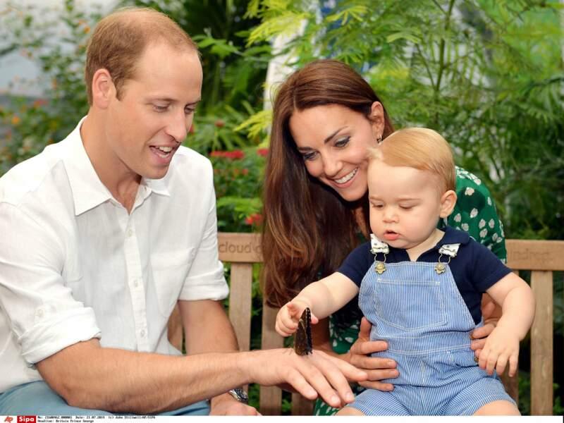 Le petit prince fête son premier anniversaire