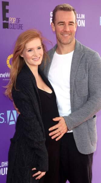 Troisième enfant pour l'acteur James Van Der Beek et son épouse Kimberly.