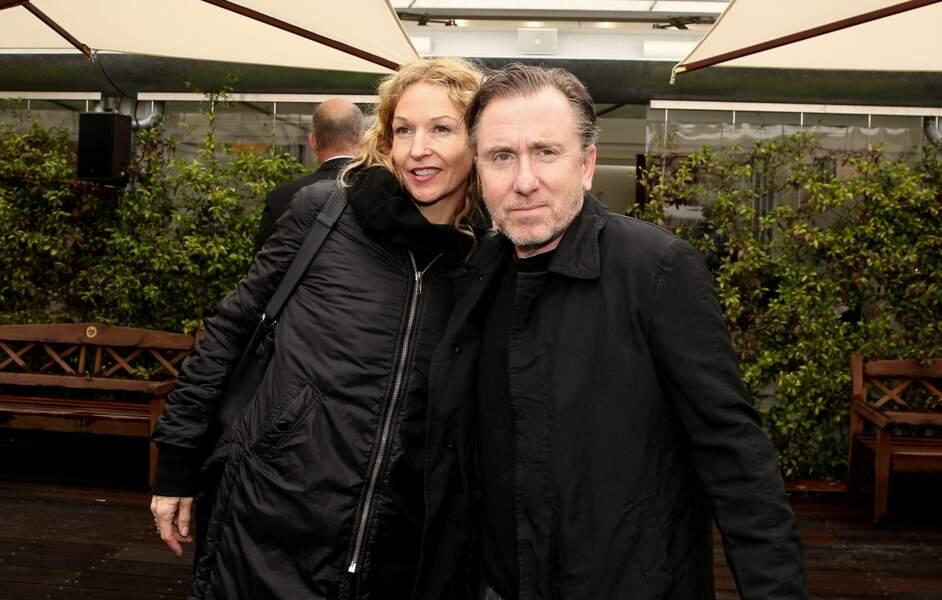 L'acteur Tim Roth et sa femme Nikki