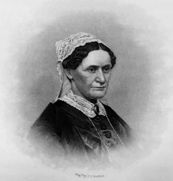 De santé fragile, Eliza Johnson ne fit que deux apparitions publiques au cours du mandat de son mari (1865/1869)