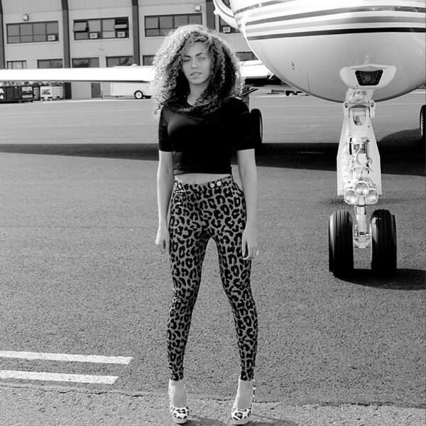 Beyoncé adore se prendre en photo devant son avion privé. Comme tout le monde !