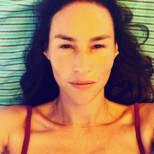 La comédienne Vanessa Demouy.