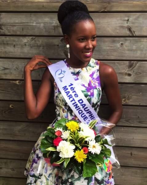 Laure-Anaïs Abidal, 1ère dauphine de Jade Voltigeur disqualifiée, représente La Martinique
