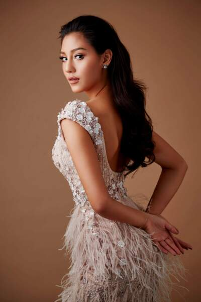 Miss Thailande : Nicolene Pichapa Limsuka