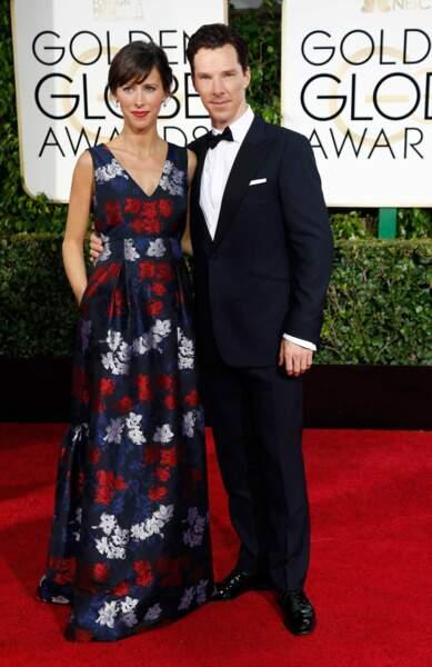 Benedict Cumberbatch et sa compagne, qui attend un heureux événement