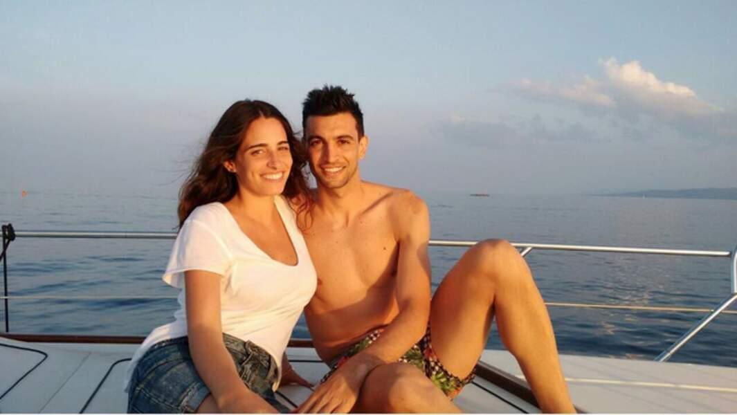 Chiara Picone, une ancienne animatrice de la Rai 2, fait le bonheur de Javier Pastore