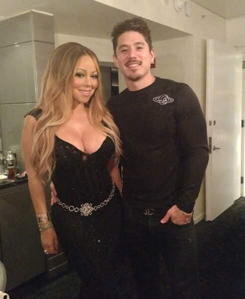 Trop mignon : c'est toujours l'amour fou entre Mariah Carey et Bryan Tanaka.