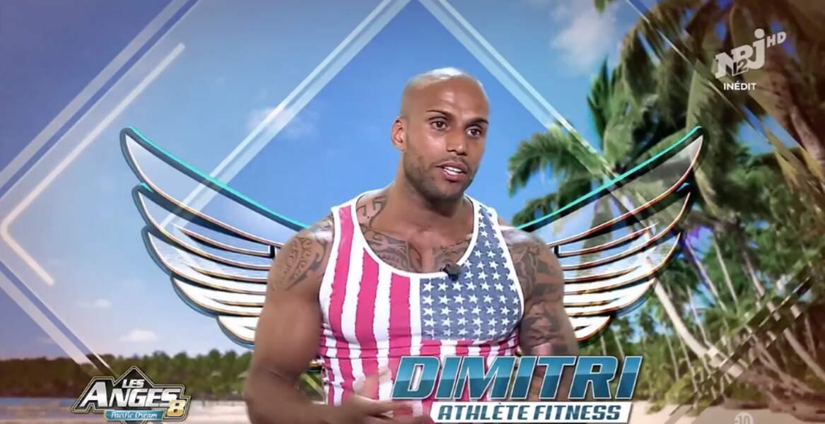 Dimitri des Anges est fan des USA, visiblement