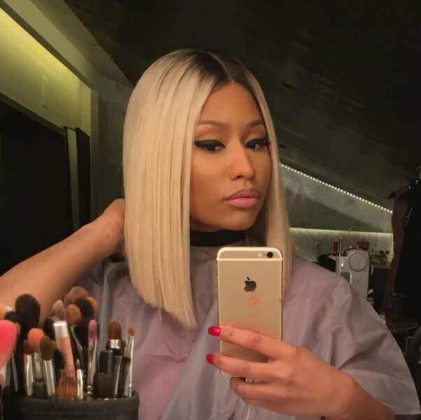 Nicki Minaj est redevenue blonde.