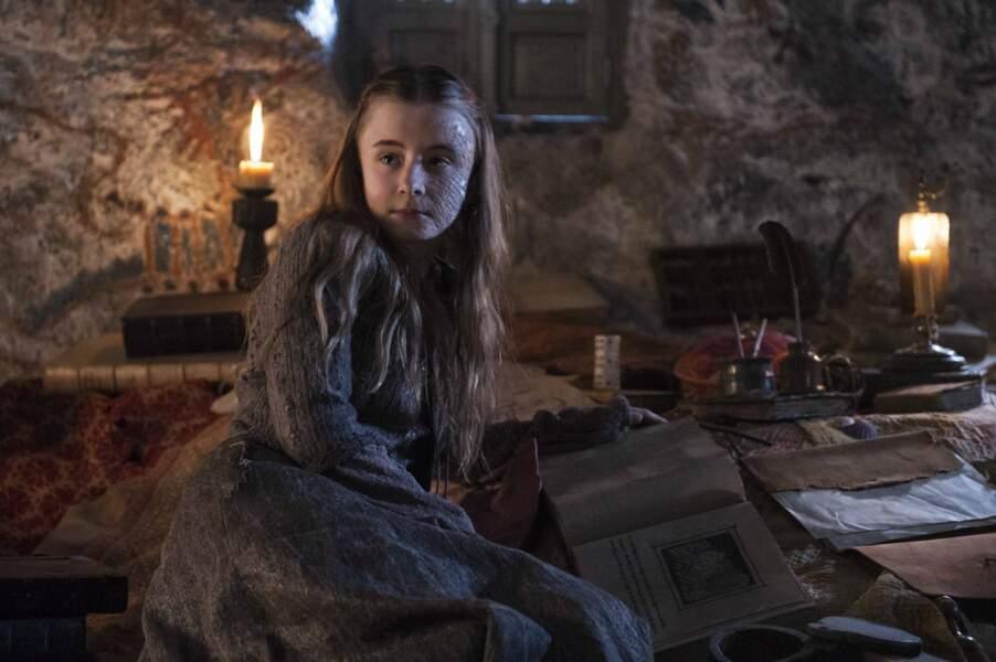 Kerry Ingram (la princesse Shireen Baratheon)