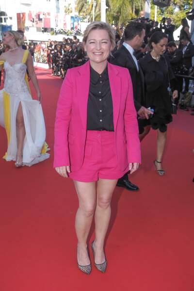 La tenue d'Anne-Elisabeth Lemoine a fait sensation sur le tapis rouge
