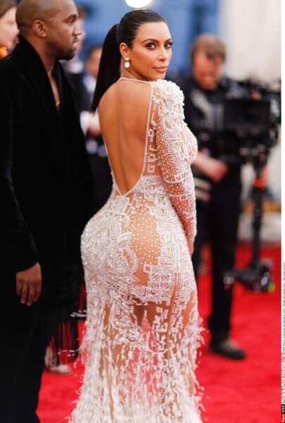 Les robes sexy, meilleurs alliées de Kim Kardashian