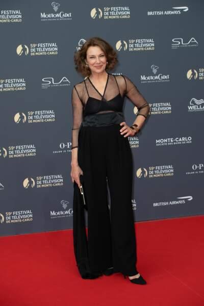 L'actrice italienne Valeria Cavalli est une invité de marque du Festival