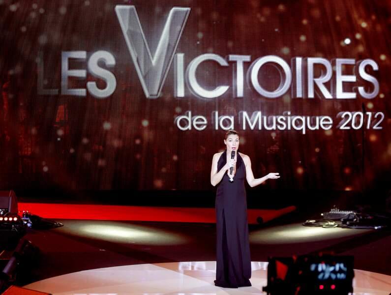 Alessandra Sublet aux commandes des Victoires de la musique (2012)
