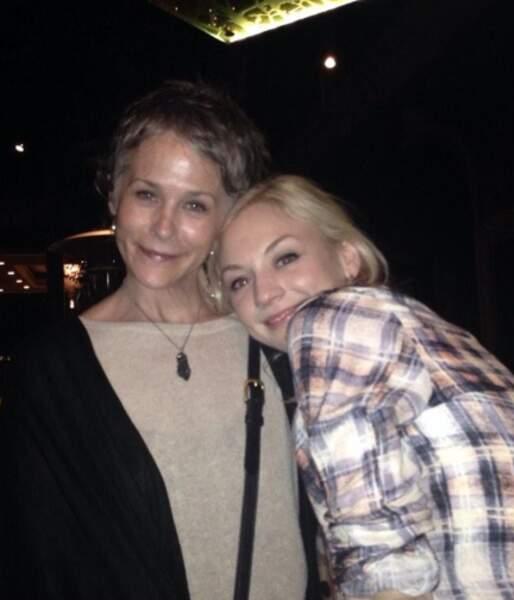 Carol (Melissa McBride) et Beth (Emily Kinney)