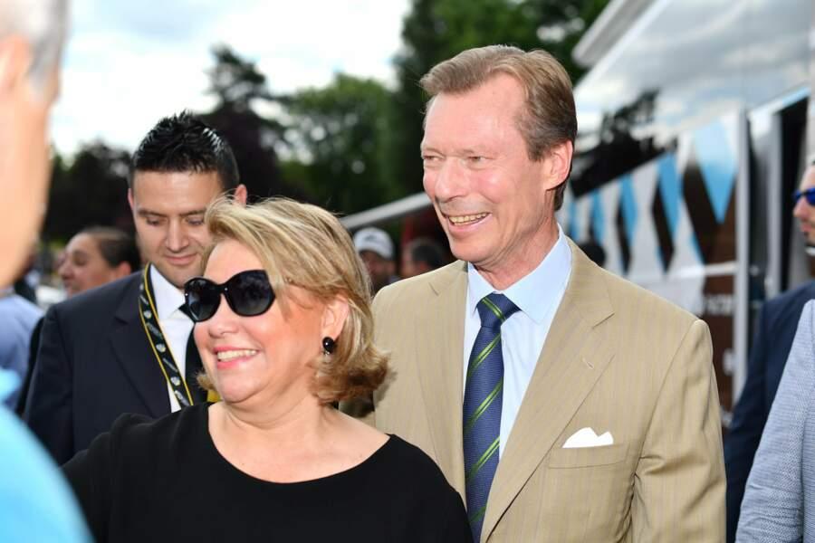 Le grand duc et la grande duchesse de Luxembourg ont même fait le déplacement !